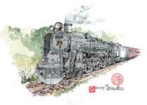 蒸気機関車イメージ